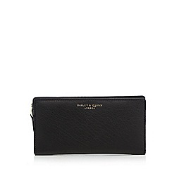 Bailey & Quinn - Black leather purse in a gift box