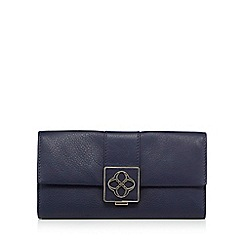 Bailey & Quinn - Navy leather purse in a gift box