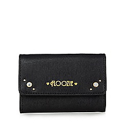 Floozie by Frost French - Black diamante stud mini purse