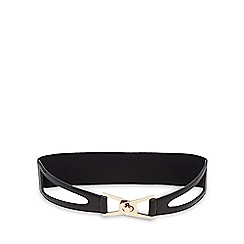 Red Herring - Black twist lock waist belt