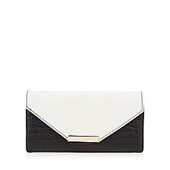 Red Herring - Black colour block purse