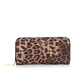 Fiorelli - Tan 'Sarah Jane' leopard large purse