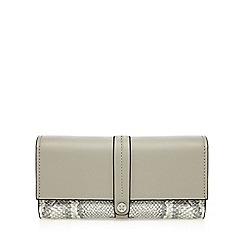 Fiorelli - Grey 'Megan' mock snake tab over purse