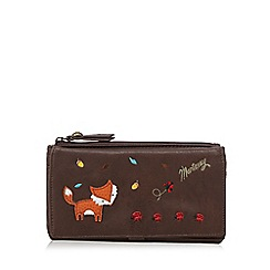 Mantaray - Brown fox and ladybird purse