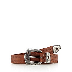 Mantaray - Tan western belt