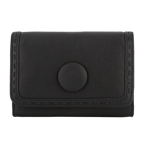 RJR.John Rocha - Designer black small leather button purse