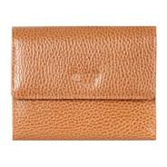 Turin mosaic leather small tri-fold purse