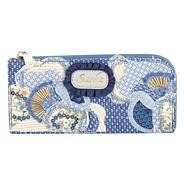 Blue Canvas Applique Purse