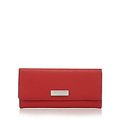 Principles by Ben de Lisi - Bright red and black colour block large purse