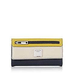 Principles by Ben de Lisi - Multi-coloured panel detail faux-leather purse