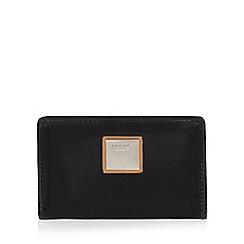 Principles by Ben de Lisi - Black patent foldover purse