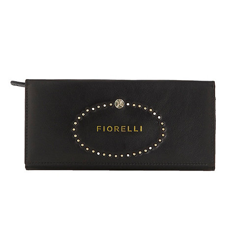 Fiorelli - Black studded logo leather purse