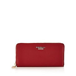 Fiorelli - Red 'City' zip around large purse