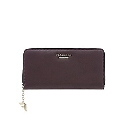 Fiorelli - Dark purple 'City' zip around large purse