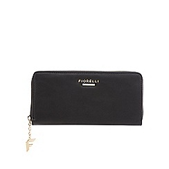 Fiorelli - Black 'City' zip around large purse