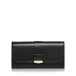 Fiorelli - Black 'Minnie' large flapover purse