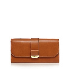 Fiorelli - Tan 'Minnie' large flapover purse