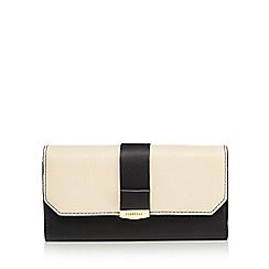 Fiorelli - Cream 'Minnie' large flapover purse