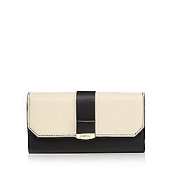 Fiorelli - Cream 'Minnie' large flapover purse