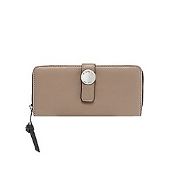 Fiorelli - Beige 'Cyan' zip around large purse