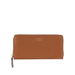 Fiorelli - Tan 'Perrie' zip around purse