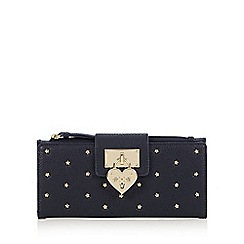 Floozie by Frost French - Navy star studded tab over large purse