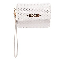 Floozie by Frost French - Light pink metallic spot miniature purse