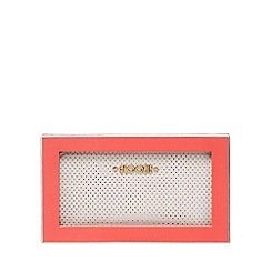 Floozie by Frost French - Light pink metallic spot zip around purse in a gift box
