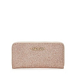 Floozie by Frost French - Pink glitter zip around purse in a gift box
