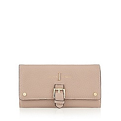 J by Jasper Conran - Light pink buckle detail large flap over purse