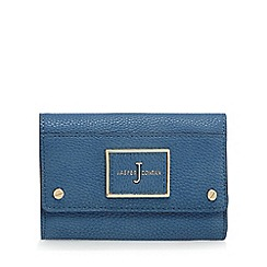 J by Jasper Conran - Blue flap over wallet