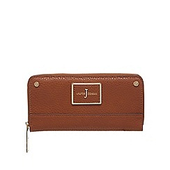 J by Jasper Conran - Tan zip around large purse