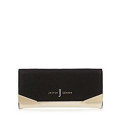 J by Jasper Conran - Cream colour block and metal trim large purse