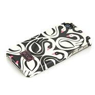 Designer Cream Swan Printed Phone Case