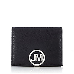 Star by Julien Macdonald - Black logo plate card holder