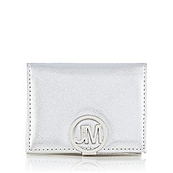 Star by Julien Macdonald - Metallic saffiano faux leather card holder