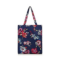 Mantaray - Multi-coloured 'Mantarary' floral print shopper bag