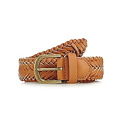 Mantaray - Tan woven belt