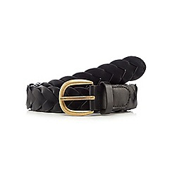 Mantaray - Black 'Windermere' woven belt