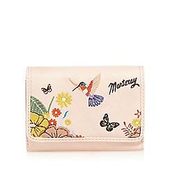 Mantaray - Light pink hummingbird medium flap over purse