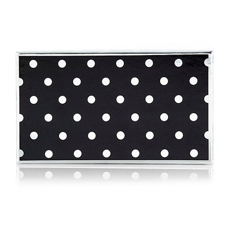 Betty Jackson.Black - Black spotted purse gift box