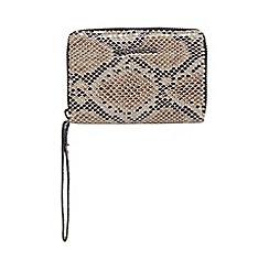 RJR.John Rocha - Grey textured snakeskin-effect organiser