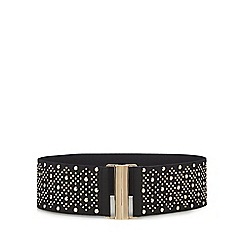 Red Herring - Black studded belt