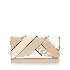Call It Spring - Light pink 'Inlet' patchwork purse