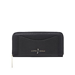 J by Jasper Conran - Black zip-around wallet