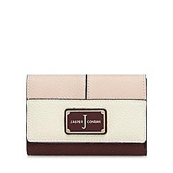 J by Jasper Conran - Wine red flap-over medium purse