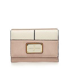 J by Jasper Conran - Pink textured flap-over wallet
