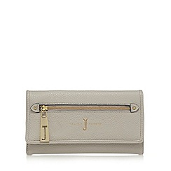 J by Jasper Conran - Grey zip front large flap over purse