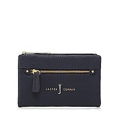 J by Jasper Conran - Navy zip front small foldover purse