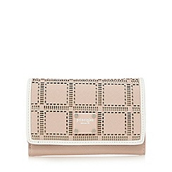Principles by Ben de Lisi - Light pink cut-out flap over wallet